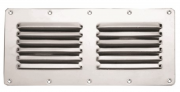 Vents to disguise holes